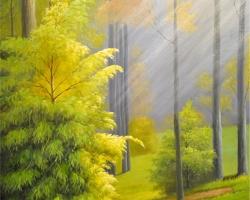 Mẫu tranh dán tường phong cảnh mã: 36