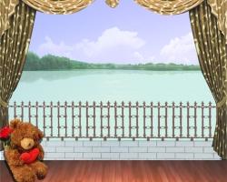 Mẫu tranh dán tường cửa sổ mã: 57