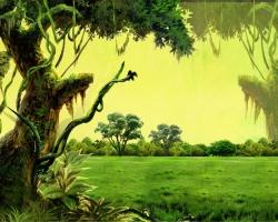 Mẫu tranh dán tường phong cảnh mã: 95