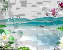 Mẫu tranh 3D mã: t3d-039