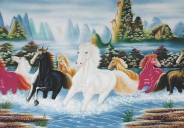 Mẫu tranh ngựa mã đáo thành công mã: 15