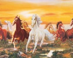 Mẫu tranh ngựa mã đáo thành công mã: 26