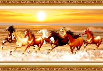 Mẫu tranh ngựa mã đáo thành công mã: 29
