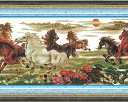 Mẫu tranh ngựa mã đáo thành công mã: 45