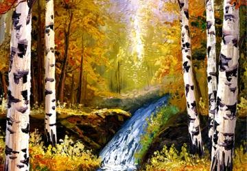 Mẫu tranh sơn dầu làng quê Châu Âu: 012TCA