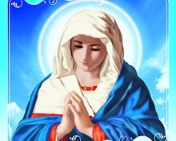 Mẫu tranh công giáo: 035TCG