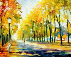 Mẫu tranh sơn dầu làng quê Châu Âu: 081TCA