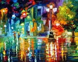 Mẫu tranh sơn dầu làng quê Châu Âu: 082TCA