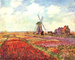 Mẫu tranh sơn dầu làng quê Châu Âu: 088TCA